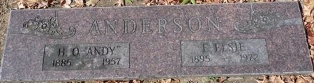 ANDERSON, F ELSIE - Tulsa County, Oklahoma | F ELSIE ANDERSON - Oklahoma Gravestone Photos