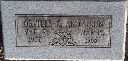 ANDERSON, ORVILLE C - Tulsa County, Oklahoma | ORVILLE C ANDERSON - Oklahoma Gravestone Photos