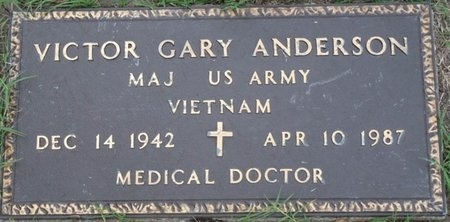 ANDERSON (VETERAN VIET), VICTOR GARY (NEW) - Tulsa County, Oklahoma | VICTOR GARY (NEW) ANDERSON (VETERAN VIET) - Oklahoma Gravestone Photos