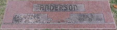 ANDERSON, VIOLA C - Tulsa County, Oklahoma   VIOLA C ANDERSON - Oklahoma Gravestone Photos