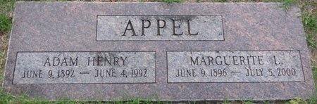 APPEL, ADAM HENRY - Tulsa County, Oklahoma | ADAM HENRY APPEL - Oklahoma Gravestone Photos