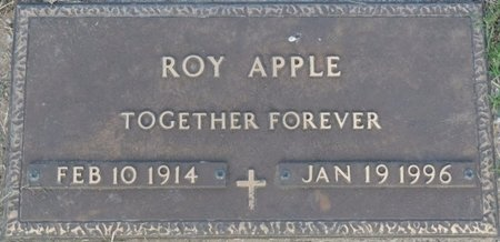 APPLE, ROY - Tulsa County, Oklahoma | ROY APPLE - Oklahoma Gravestone Photos