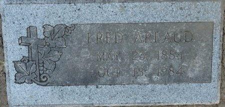 ARLAUD, FRED - Tulsa County, Oklahoma | FRED ARLAUD - Oklahoma Gravestone Photos