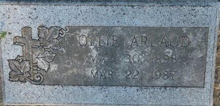 ARLAUD, OLLIE - Tulsa County, Oklahoma | OLLIE ARLAUD - Oklahoma Gravestone Photos