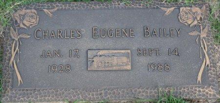 BAILEY, CHARLES EUGENE - Tulsa County, Oklahoma | CHARLES EUGENE BAILEY - Oklahoma Gravestone Photos