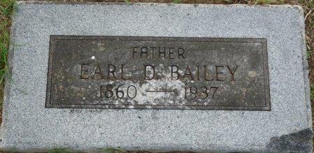 BAILEY, EARL DOUGLAS - Tulsa County, Oklahoma | EARL DOUGLAS BAILEY - Oklahoma Gravestone Photos