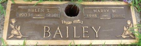 BAILEY, HELEN T - Tulsa County, Oklahoma   HELEN T BAILEY - Oklahoma Gravestone Photos