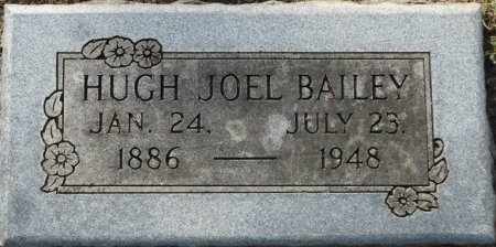 BAILEY, HUGH JOEL - Tulsa County, Oklahoma | HUGH JOEL BAILEY - Oklahoma Gravestone Photos