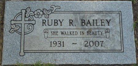 BAILEY, RUBY R - Tulsa County, Oklahoma | RUBY R BAILEY - Oklahoma Gravestone Photos