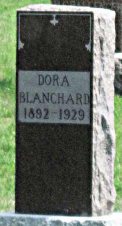BLANCHARD, DORA - Tulsa County, Oklahoma   DORA BLANCHARD - Oklahoma Gravestone Photos