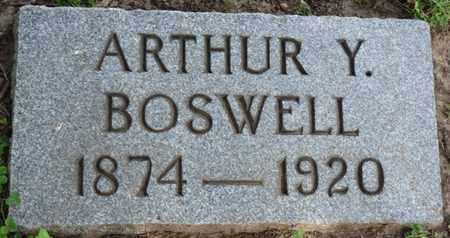 BOSWELL, ARTHUR Y - Tulsa County, Oklahoma | ARTHUR Y BOSWELL - Oklahoma Gravestone Photos