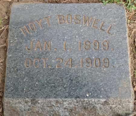 BOSWELL, HOYT - Tulsa County, Oklahoma | HOYT BOSWELL - Oklahoma Gravestone Photos
