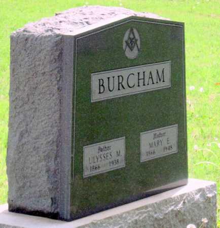 BURCHAM, MARY ELIZABETH - Tulsa County, Oklahoma   MARY ELIZABETH BURCHAM - Oklahoma Gravestone Photos