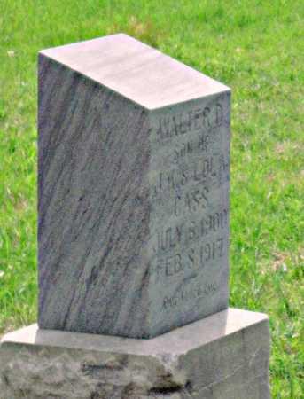 CASS, WALTER D - Tulsa County, Oklahoma | WALTER D CASS - Oklahoma Gravestone Photos