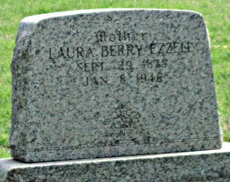 BERRY EZZELL, LAURA F - Tulsa County, Oklahoma | LAURA F BERRY EZZELL - Oklahoma Gravestone Photos