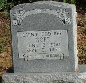 GOFF, EARNIE GODFREY - Tulsa County, Oklahoma | EARNIE GODFREY GOFF - Oklahoma Gravestone Photos