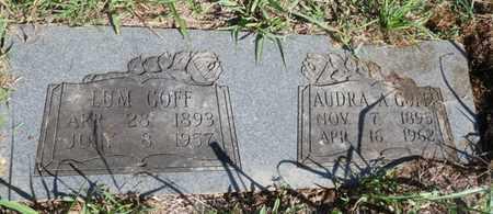 GOFF, LUM - Tulsa County, Oklahoma | LUM GOFF - Oklahoma Gravestone Photos