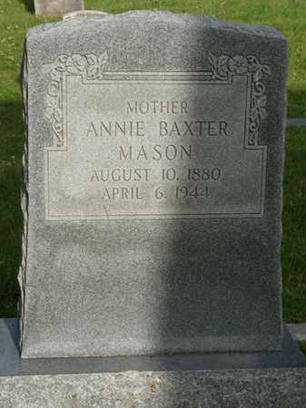 MASON, ANNIE - Tulsa County, Oklahoma | ANNIE MASON - Oklahoma Gravestone Photos