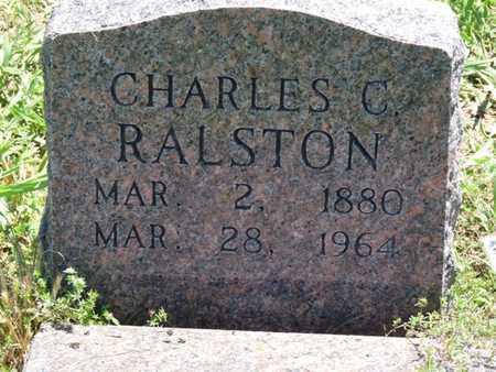 RALSTON, CHARLES C - Tulsa County, Oklahoma | CHARLES C RALSTON - Oklahoma Gravestone Photos