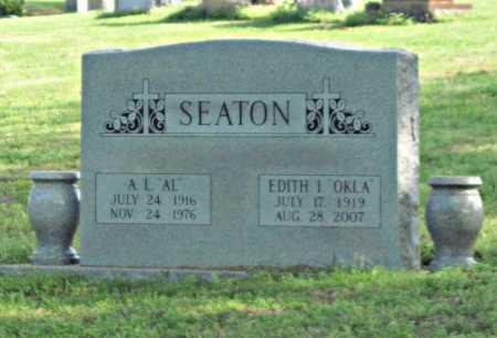 "SEATON, A L ""AL"" - Tulsa County, Oklahoma | A L ""AL"" SEATON - Oklahoma Gravestone Photos"