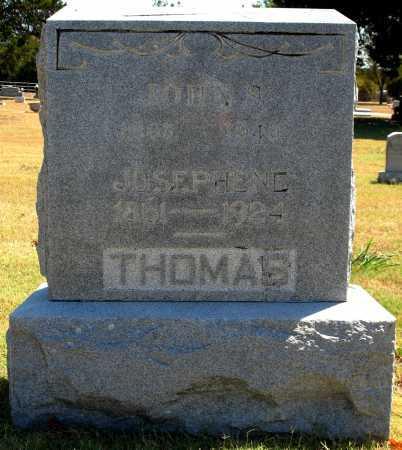 THOMAS, JOHN S - Tulsa County, Oklahoma | JOHN S THOMAS - Oklahoma Gravestone Photos