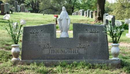 THOUNG TIEC, MARIA - Tulsa County, Oklahoma | MARIA THOUNG TIEC - Oklahoma Gravestone Photos