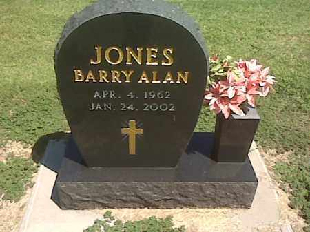 JONES, BARRY ALAN - Wagoner County, Oklahoma | BARRY ALAN JONES - Oklahoma Gravestone Photos