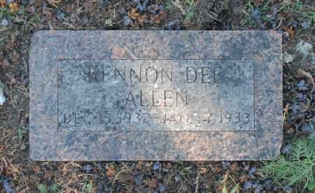 ALLEN, KENNON DEE - Washington County, Oklahoma   KENNON DEE ALLEN - Oklahoma Gravestone Photos