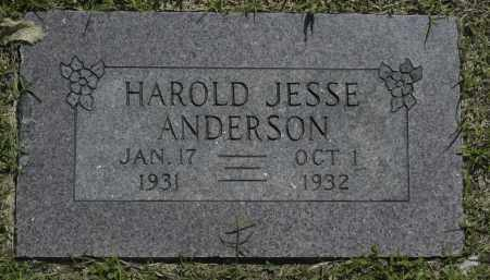 ANDERSON, HAROLD JESSE - Washington County, Oklahoma | HAROLD JESSE ANDERSON - Oklahoma Gravestone Photos