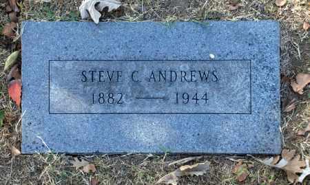 ANDREWS, STEVE C - Washington County, Oklahoma | STEVE C ANDREWS - Oklahoma Gravestone Photos