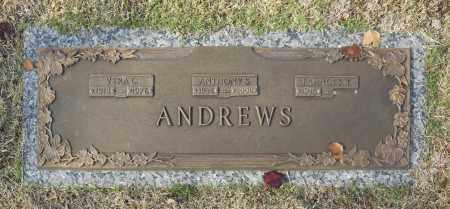 ANDREWS, FRANCES T - Washington County, Oklahoma | FRANCES T ANDREWS - Oklahoma Gravestone Photos