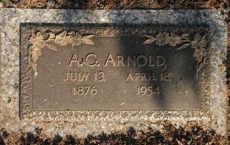 ARNOLD, A. G. - Washington County, Oklahoma | A. G. ARNOLD - Oklahoma Gravestone Photos