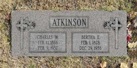 ATKINSON, BERTHA E - Washington County, Oklahoma | BERTHA E ATKINSON - Oklahoma Gravestone Photos