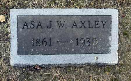 AXLEY, ASA J W - Washington County, Oklahoma   ASA J W AXLEY - Oklahoma Gravestone Photos