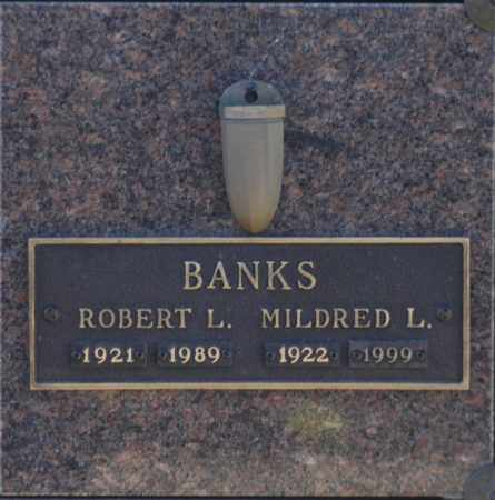 BANKS, ROBERT L - Washington County, Oklahoma | ROBERT L BANKS - Oklahoma Gravestone Photos