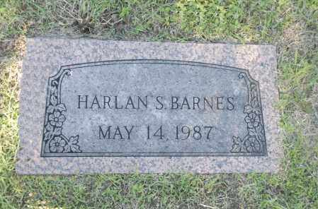 BARNES, HARLAN S. - Washington County, Oklahoma | HARLAN S. BARNES - Oklahoma Gravestone Photos