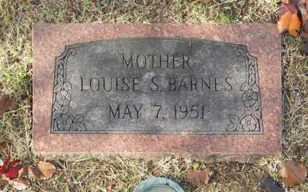 BARNES, LOUISE S - Washington County, Oklahoma | LOUISE S BARNES - Oklahoma Gravestone Photos