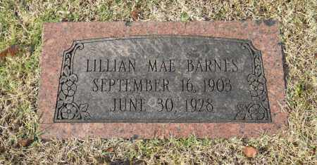 BARNES, LILLIAN MAE - Washington County, Oklahoma | LILLIAN MAE BARNES - Oklahoma Gravestone Photos