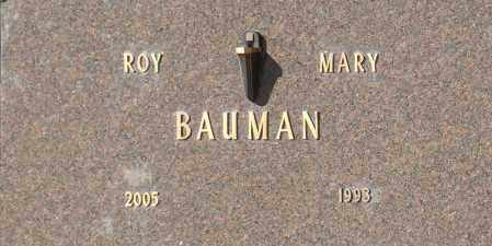 BAUMAN, MARY - Washington County, Oklahoma | MARY BAUMAN - Oklahoma Gravestone Photos