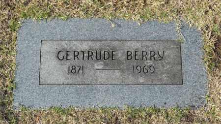 BERRY, GERTRUDE - Washington County, Oklahoma   GERTRUDE BERRY - Oklahoma Gravestone Photos