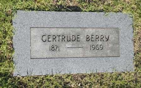 BERRY, GERTRUDE - Washington County, Oklahoma | GERTRUDE BERRY - Oklahoma Gravestone Photos