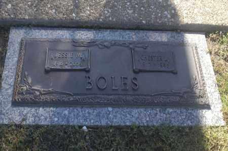 BOLES, JESSIE M - Washington County, Oklahoma | JESSIE M BOLES - Oklahoma Gravestone Photos