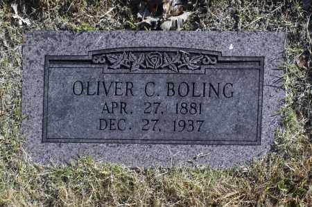 BOLING, OLIVER C - Washington County, Oklahoma | OLIVER C BOLING - Oklahoma Gravestone Photos