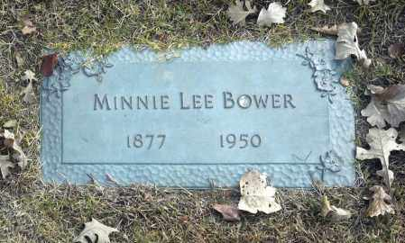 BOWER, MINNIE LEE - Washington County, Oklahoma | MINNIE LEE BOWER - Oklahoma Gravestone Photos