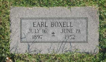 BOXELL, EARL - Washington County, Oklahoma | EARL BOXELL - Oklahoma Gravestone Photos