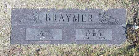 BRAYMER, CARRIE E - Washington County, Oklahoma | CARRIE E BRAYMER - Oklahoma Gravestone Photos