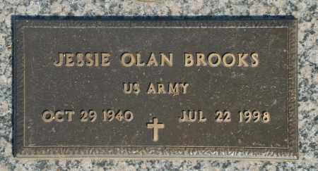 BROOKS, JESSIE OLAN - Washington County, Oklahoma   JESSIE OLAN BROOKS - Oklahoma Gravestone Photos