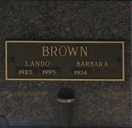 BROWN, BARBARA - Washington County, Oklahoma | BARBARA BROWN - Oklahoma Gravestone Photos