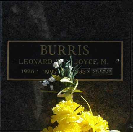 BURRIS, JOYCE M - Washington County, Oklahoma | JOYCE M BURRIS - Oklahoma Gravestone Photos