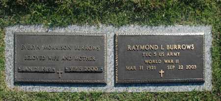 BURROWS, RAYMOND L. - Washington County, Oklahoma | RAYMOND L. BURROWS - Oklahoma Gravestone Photos